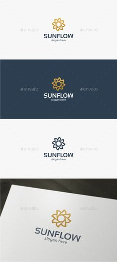 Sun Flower - Logo Template