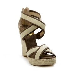 Ollio Women's Wedge Platform High Heels Strap Sandals