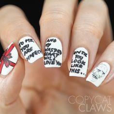 Love Actually Nail Art