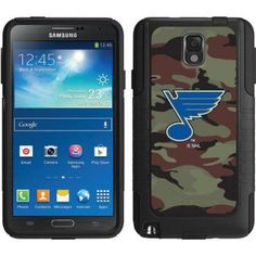 OtterBox Commuter Series Coveroo NHL Case for Samsung Galaxy Note 3, Blue