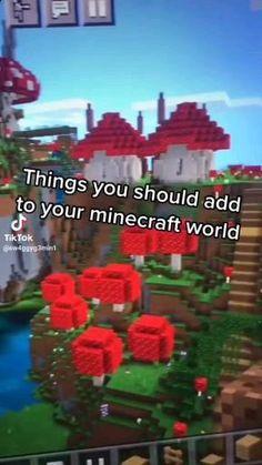 Minecraft Seed, Minecraft Cottage, Easy Minecraft Houses, Minecraft House Tutorials, Minecraft Plans, Minecraft House Designs, Minecraft Decorations, Amazing Minecraft, Minecraft Tutorial