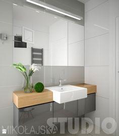 Minimalistyczna łazienka - zdjęcie od MIKOŁAJSKAstudio - Łazienka - Styl Nowoczesny - MIKOŁAJSKAstudio