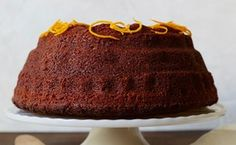 Orange-Spiced Rye Honey Cake / Photo by Lauren Volo Best Cake Recipes, Cupcake Recipes, Sweet Recipes, Favorite Recipes, Fall Dessert Recipes, Fall Desserts, Orange Spice Cake Recipe, Fall Cakes, Honey Cake