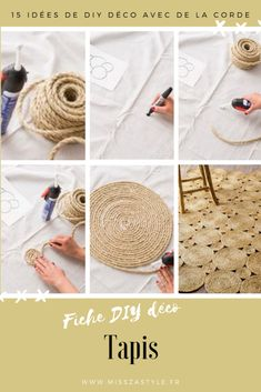Christmas is coming in are you ready? If you want some Christmas Craft Ideas, you can get it today. Today I am going to share 12 easy Christmas DIY ideas Cute Diy, Art Deco Decor, Creation Deco, Diy Furniture Projects, Blog Deco, Rug Making, Handmade Rugs, Diy Crafts To Sell, Christmas Diy