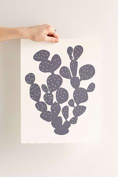 Banquet Workshop Paddle Cactus Screen Print - Urban Outfitters