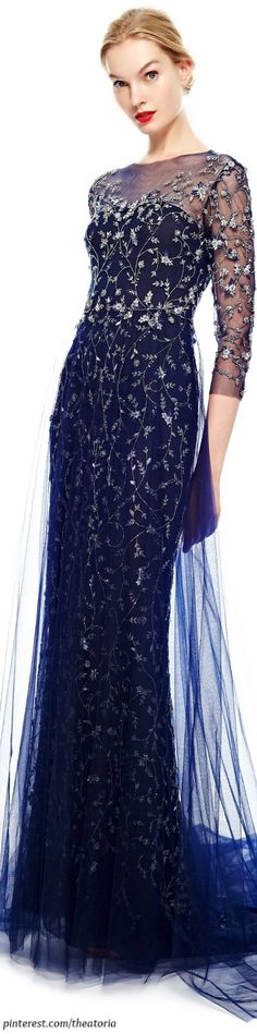 Marchesa ● Pre-Fall 2014 by Rose of Sharon