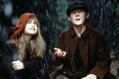 """3/12/14  3:40a   Warner Bros. Pictures """"The Secret Garden""""   Mary Lennox and Dickon  in   'The Garden' as they plant Flowers and while  the   Spring Rains  arrive. 1993"""