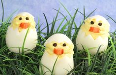 Chick Deviled Eggs #Easter Recipe