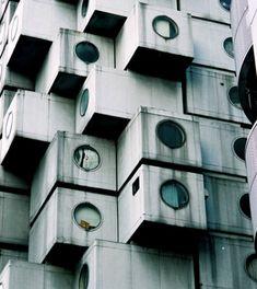 Metabolism - Nakagin Capsule Tower by Kisho Kurokawa
