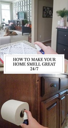 There's not much better than walking into a home that smells fresh, clean, and welcoming. I always fear that our house will smell like dog (sorry, Maddie). As you'll see in the photos, I already tested out two of Lana's tips for making your home smell good. I just came in from getting the mail ... Read More about How To Make Your House Smell Good {Three Fast Fixes}