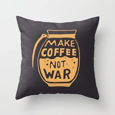 Check out society6curated.com for more! @society6 #illustration #home #decor #homedecor #interior #design #interiordesign #buy #shop #shopping #sale #apartment #apartmentgoals #sophomore #year #house #fun #cool #unique #gift #giftidea #idea #pillows  #dorm #cool #coffee #makecoffee #joe #morning #text #typography #lettering