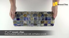 Stained Glass Mosaic Tile Argentina 1x1 - 120HIRHIAR1240MB11 - http://www.mineraltiles.com/stained-glass-mosaic-tile-argentina-1x1/
