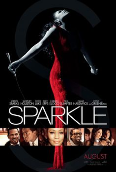 """I know, I know... a movie poster on a concert poster pinboard. But this remix of """"Sparkle"""" is practically a concert. Jordin Sparks? Whitney Houston? Cee-Lo? Yes, please."""