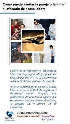 PRIDICAM www.MobbingMadrid.org : Como puede ayudar la pareja o familiar al afectado...