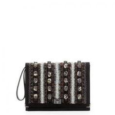 Jason Wu - Wristlet Clutch Bag Beaded Flap - $1,257.75 (55% off)