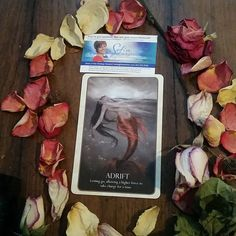 Today's beautiful #Intuitive #Oracle card reading is Adrift Reversed  You resisted something today and it is a part of a larger pattern so you need a change. A shift in focus, a system, a new rule could support you so you can relax and feel adrift.