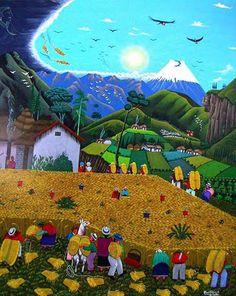 Se inaugura en el Museo Nacional de Antropología una muestra dedicada al arte de Tigua, un canto a la vida y la naturaleza: http://www.guiarte.com/noticias/arte-tigua-mna-2015.html