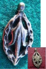 13-15th c. A.D. medieval silver pendant, Balkans (2 cm) - antiquitiesgiftshop.com 4331