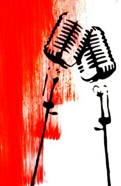 1000 Images About Microphone Art On Pinterest Vintage