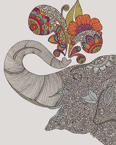 Shower of Joy Art Print | Valentina Ramos