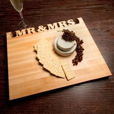 Words with Boards: Mr. & Mrs. Cutting Board
