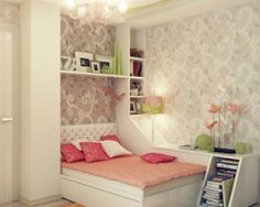 Epic Girls Bedroom Ideas For Small Rooms With Additional Inspiration Interior Home Design Ideas with Girls Bedroom Ideas For Small Rooms Teenage Girl Bedroom Designs, Teenage Girl Bedrooms, Teenage Room, Girls Bedroom, Bedroom Decor, Bedroom Ideas, Teen Rooms, Bedroom Inspiration, Modern Bedroom