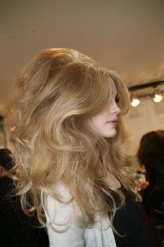 Dior.  I'm still an 80's girl.  LOVE big hair!