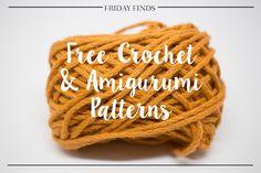 Friday Finds #17: Free Crochet & Amigurumi Patterns