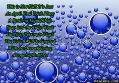 388 April Fool Quotes, April Fools, The Fool, Bubbles, Text Posts, April Fools Pranks, April Fools Day