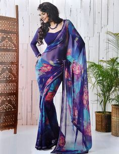 Beautiful Digital Saree Design