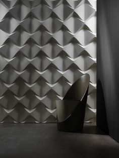 Caos is characterized by a precise geometry. Light plays a fundamental role, giving the panel a strong personality.