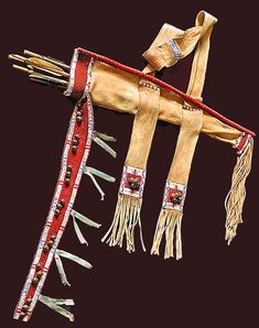 Comanche Quiver Mixed Media by Native Arts Trading