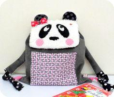 Sac à dos enfant pour l'école maternelle Panda