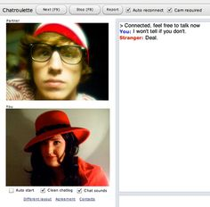 funny chatroulette screenshot