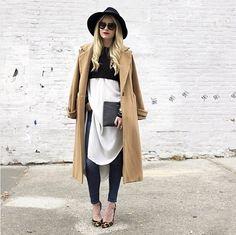 Wie man Kleider auch im Winter trägt | POPSUGAR Deutschland Mode