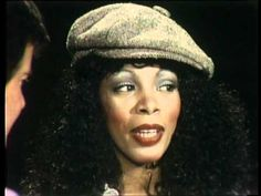 """American Bandstand 1978 Donna Summer Interview around the time of the release of her move """"Can't Stop the Music"""".  Such a fun clip of two icons of my youth!"""