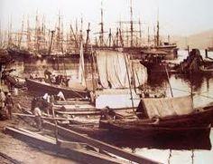 marc ferrez, o porto de Santos, 1885