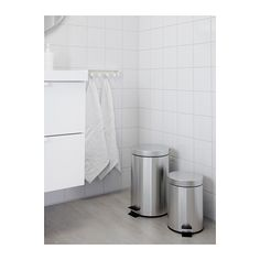 IKEA STRAPATS pedal bin The bin is easy to move since it has a handle on the…