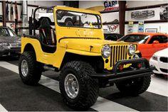 Cj Jeep, Jeep Willys, Jeep Truck, Vintage Jeep, Vintage Cars, Yellow Jeep Wrangler, 1999 Jeep Cherokee, Badass Jeep, Willys Mb