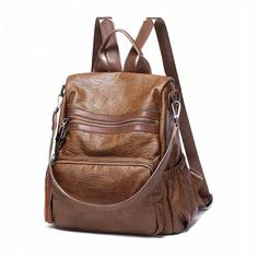 QIAODI Brand Women Backpack Casual Anti-theft Leather Backpacks Shoulder Bag School Bags for Teenagers Girls Feminine Mochila. Yesterday's price: US $27.32 (22.74 EUR). Today's price: US $27.32 (22.59 EUR). Discount: 23%.