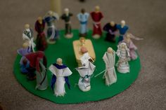 clothespin World Communion figures!  For CGS these figures should be 2 dimensional rather than 3 dimensional.