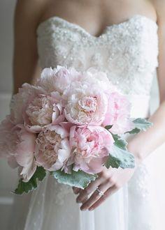 Свадебный букет из пионов | SunFlower