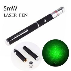 Hunting laser device 5mW 532nm Laser Pointer stars 500 meters green light laser pointer flashlight (without batteries)