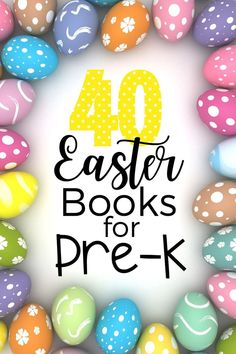 40 Days worth of Easter books for children...perfect for reading one a day during Lent.