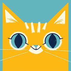 "lydianichols: ""And my hammy kitty too! #illustration #catscatscats """