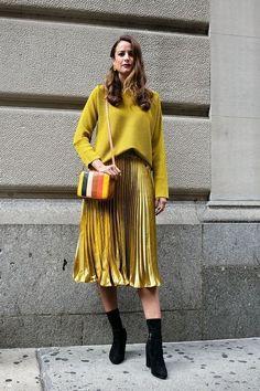 139 Jaw-Dropping Street Style-foto's van de New York Fashion Week – Cosmopolitan.c … – Damen und Mode Street Style Trends, Looks Street Style, New Fashion Trends, New York Fashion, Fashion Moda, Womens Fashion, Ladies Fashion, New Yorker Mode, Fashion Outfits