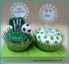 Atletico Nacional Cupcakes