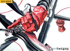 Vinyl Art, Deadpool, Korea, Superhero, Painting, Fictional Characters, Design, Painting Art