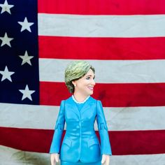We've turned Hillary Clinton into an awesome iconic action figure because we're hoping to kick off some light-hearted excitement about her campaign and the amazingly cool prospect of America getting i