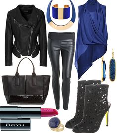Blue velvet #fashion #style #look #dress #mode #outfit